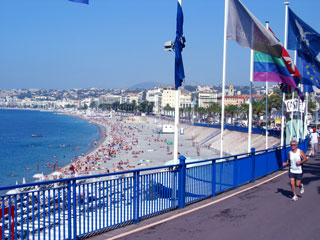 The French Riviera at Nice